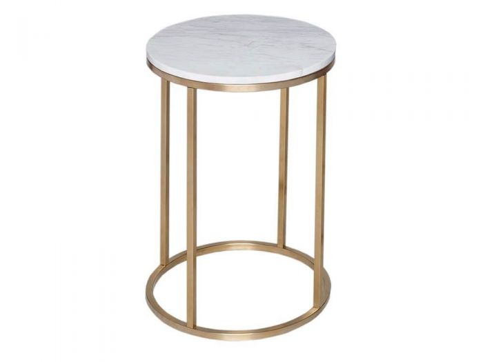 Kensal Slimline Circular Side Tables