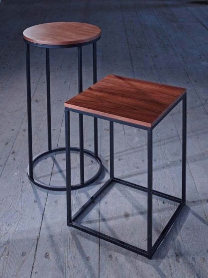 Kensal Slimline Square Side Tables