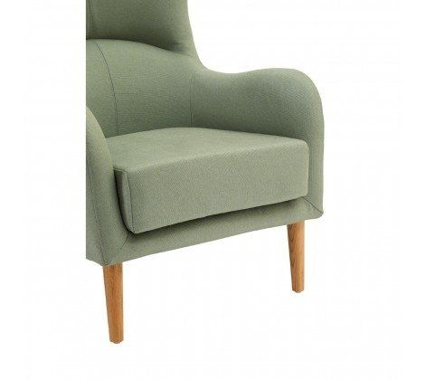 Kolding Green Fabric Chair