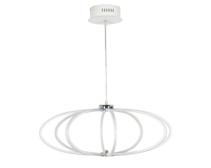Langston White LED Pendant