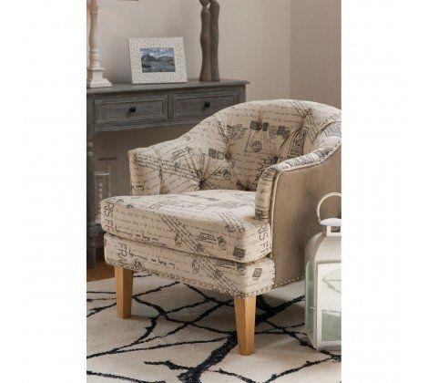 Lerwick Chair - Linen