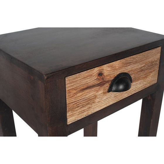 Ludovica Hand Carved Patterned Side Table