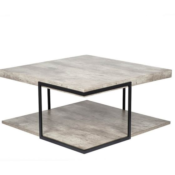Malmo Concrete Effect Coffee Table