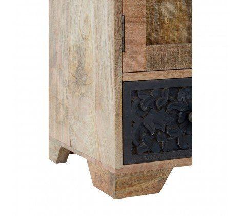 Mara Mango Wood Colourful Low Cabinet
