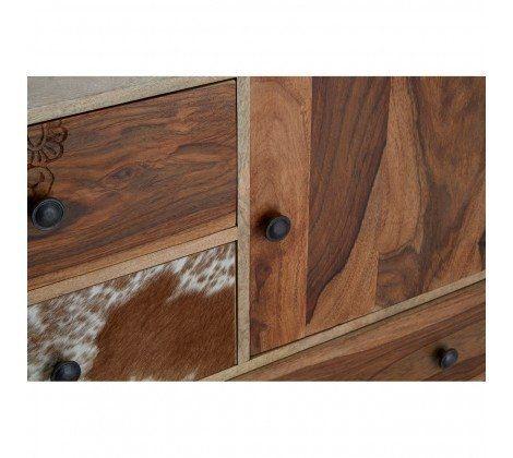 Mara Mango Wood Colourful Sideboard