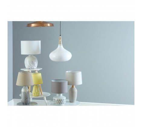 Mason Grey Ceramic Table Lamp
