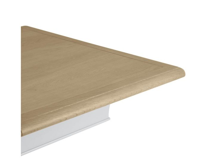Mendes Soft Grey Extending Dining Table