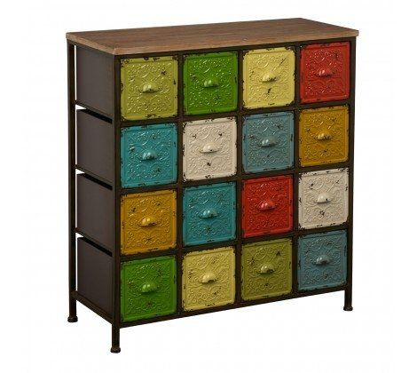 Metal 16 Colour Artisan Cabinet