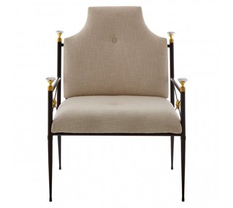 Miguel Steel High Back Chair