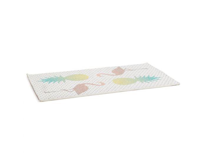 Minna Pineapple and Flamingos Tropics Rug