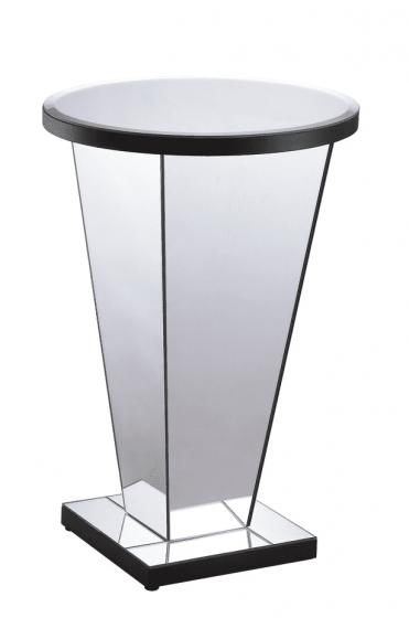 Ellen Mirrored Lamp Table
