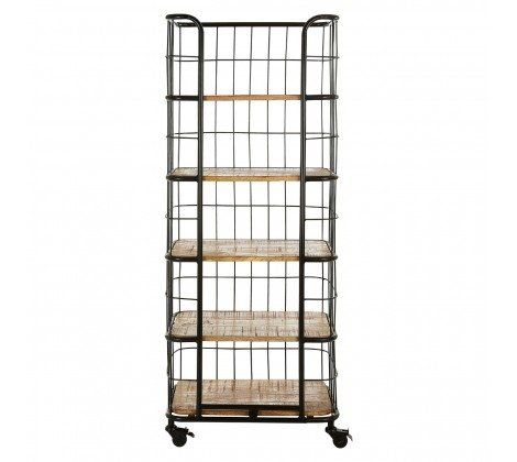 Nest Mango Wood 5 Tier Shelf Rack