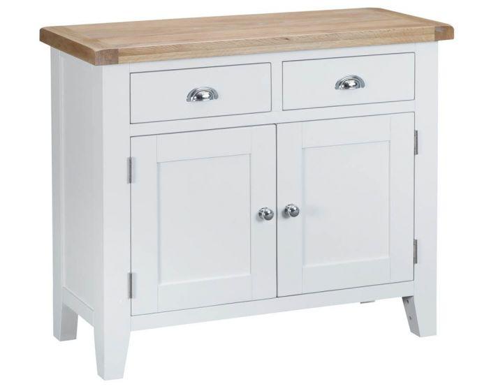Newholme White 2 Drawer 2 Door Sideboard