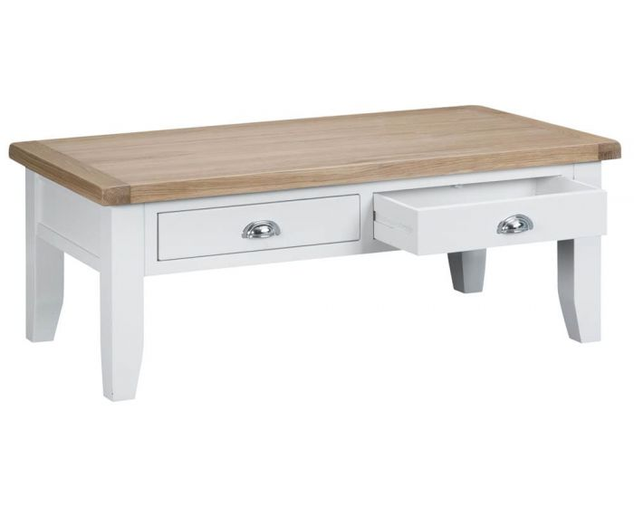 Newholme White Coffee Table