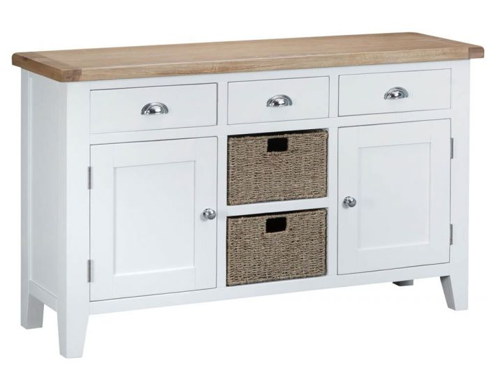 Newholme White Sideboard