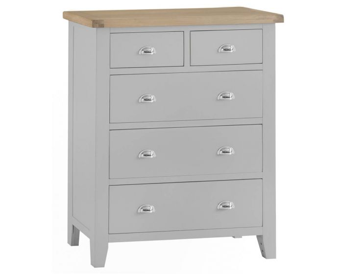 Newsome Grey Oak Large 2 Over 3 Chest