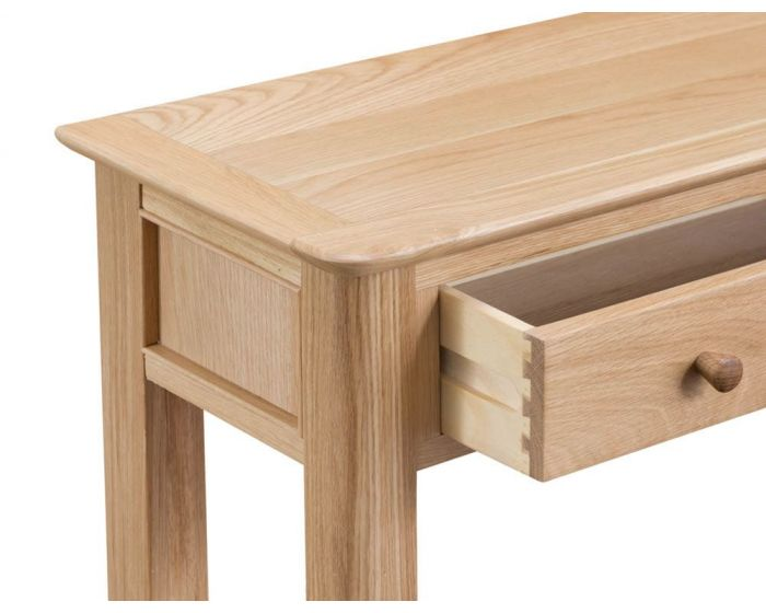 Noah Oak 1 Drawer Console Table