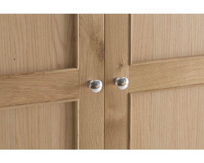 Noah Oak 2 Door Wardrobe