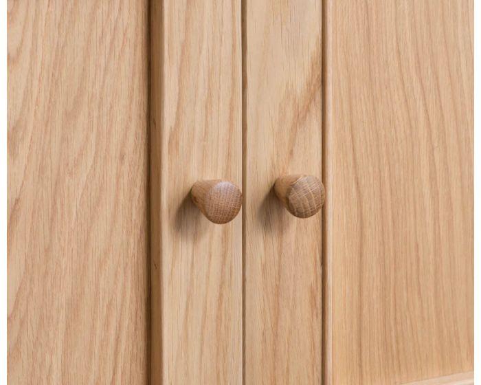 Noah Oak 4 Door Sideboard