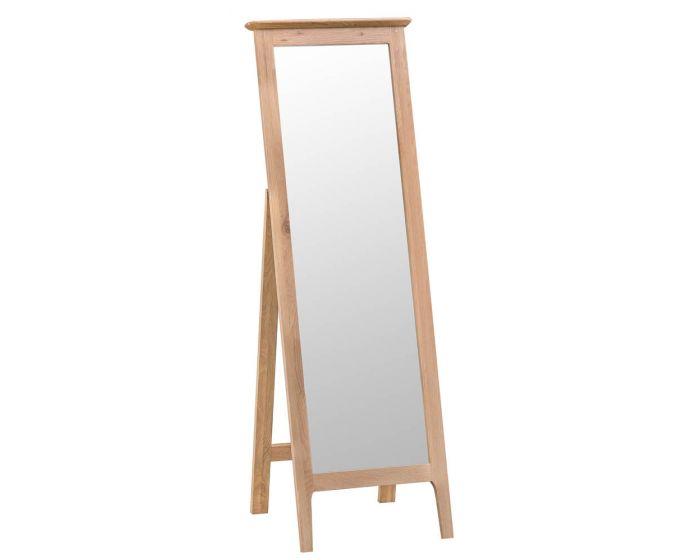 Noah Oak Cheval Mirror