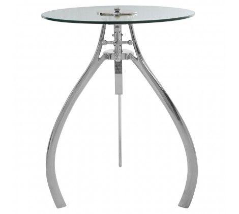 Norwood Crank Mechanism Adjustable Side Table