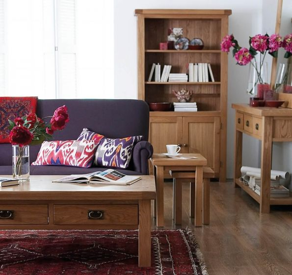 Oakhouse Oak 3 Drawer Dressing Table