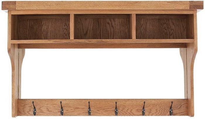 Oakhouse Oak Hall Shelf Unit