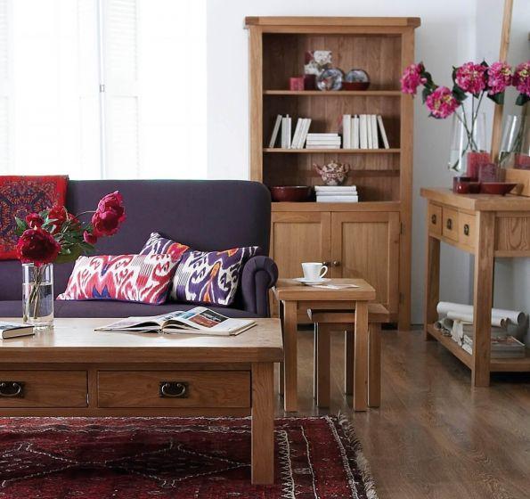 Oakhouse Oak Small Bookcase
