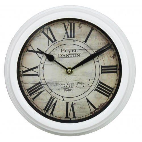 Paris Rustic Wall Clock