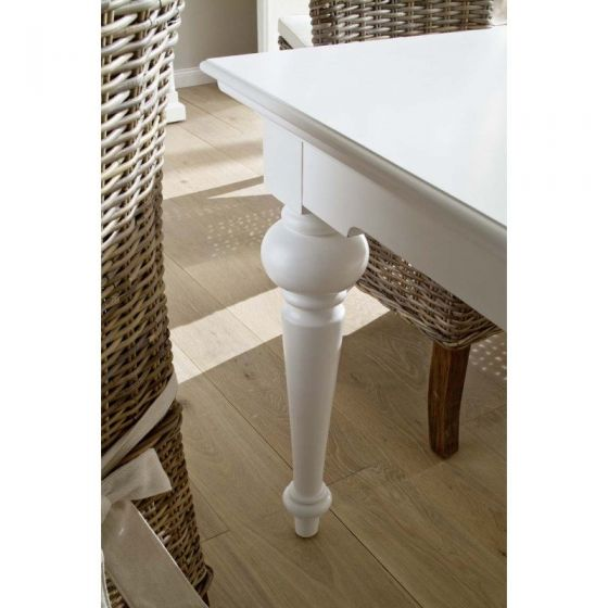 Provence White Mahogany Dining Tables