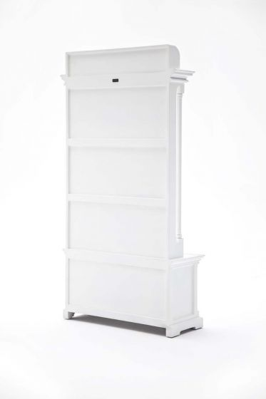 Provence White Mahogany Hall Tree
