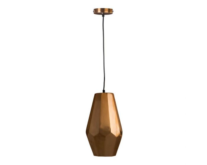 Retro Small Copper Finish Pendant Light - Pack of 2