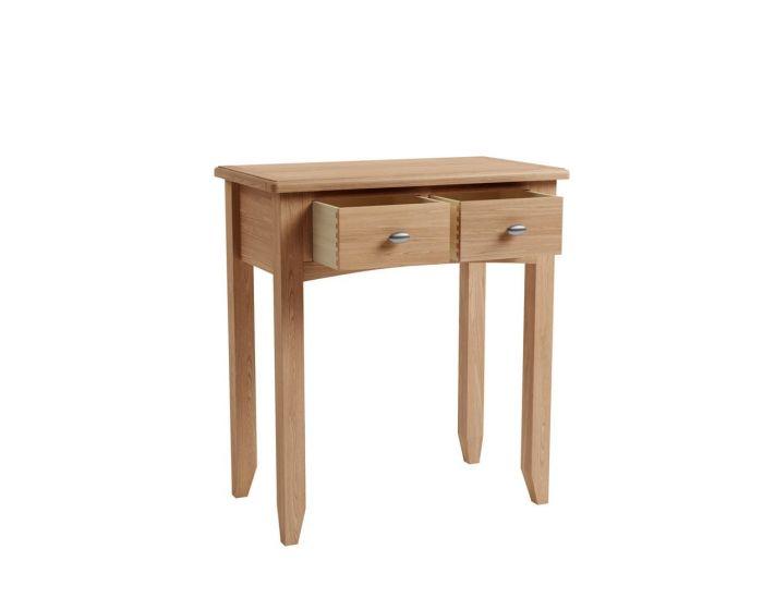 Richtown Oak 2 Drawer Dressing Table