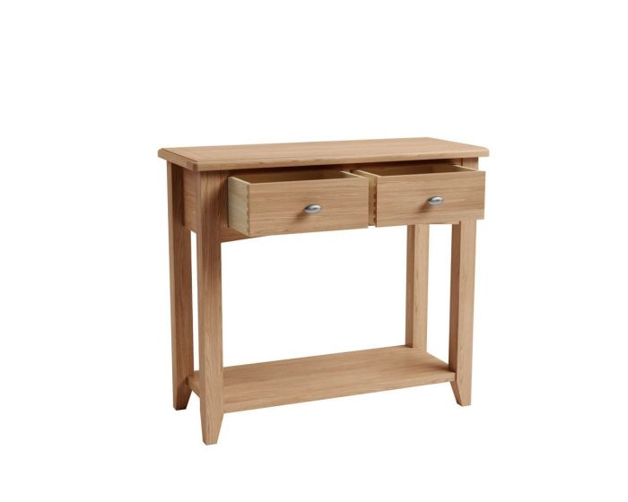 Richtown Oak Console Table