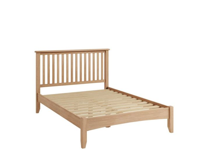Richtown Oak Bed Frame