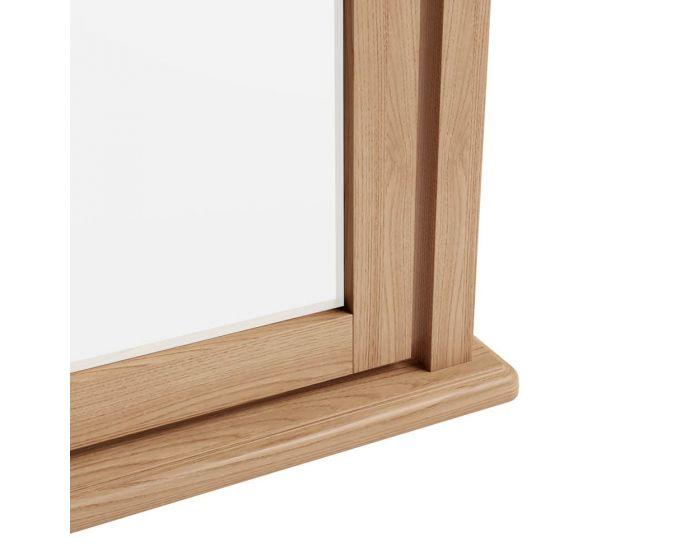 Richtown Oak Trinket Mirror