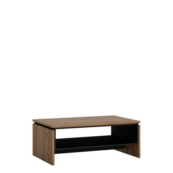 Rolo Coffee Table in Dark Wood