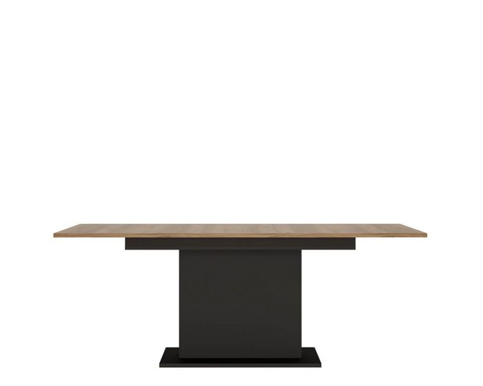 Rolo Extending Dining Table in Dark Wood