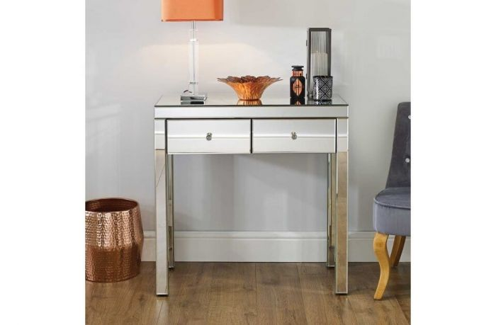 Savannah Mirrored 2 Drawer Console Table