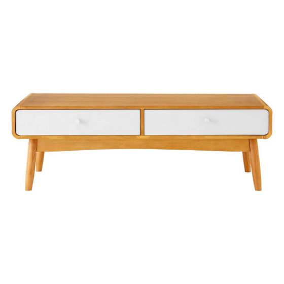 Scandinavian Inspired Oak Veneer Coffee Table