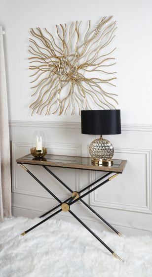 Scarlet Console Table