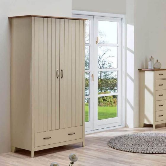 Shaker Style 2 Door 1 Drawer Wardrobes