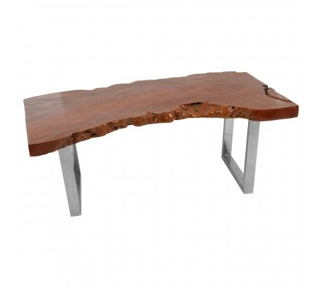 Shakir Longon Wood Coffee Table