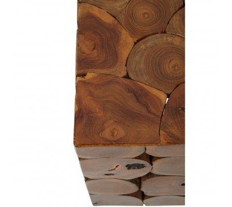 Shakir Square Teak Wood Stool