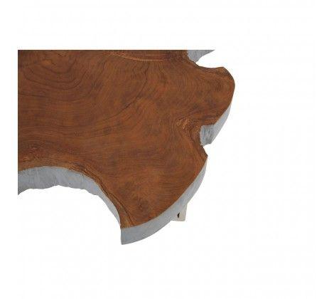 Shakir Stainless Steel Side Table