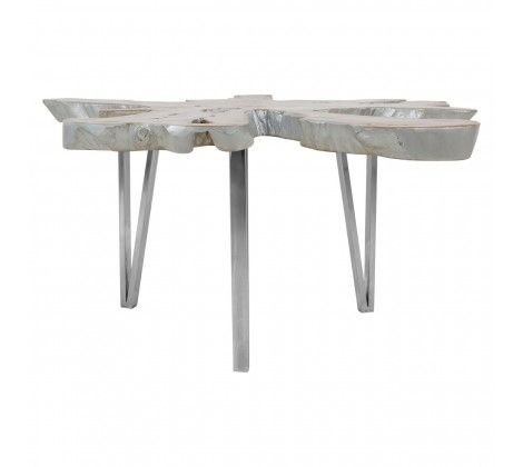 Shakir Star Table Top Stainless Steel Coffee Table