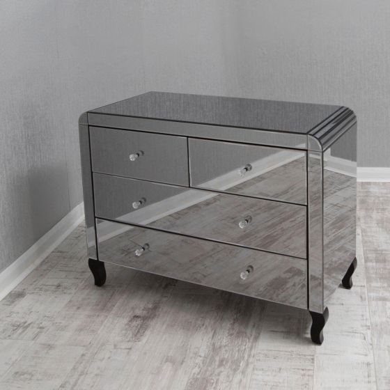 Smoked Mirrored Chest