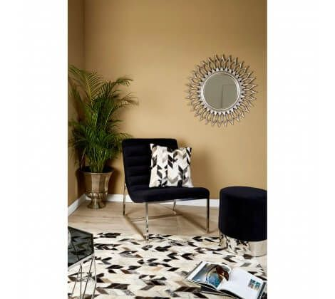 Sofia Large Black and White Rug