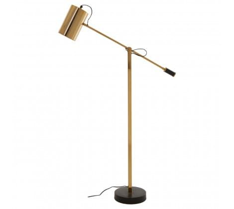 Soraya Black & Gold Floor Lamp