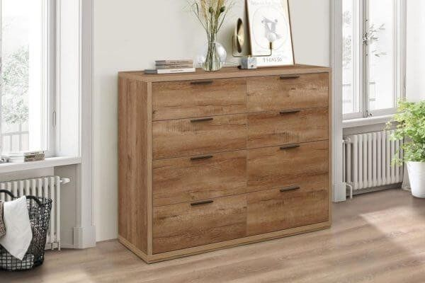 Stonehouse Rustic Effect Merchant Chest